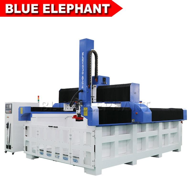 Espuma EPS ATC CNC Router 1530 4D máquina de gravura - Blue