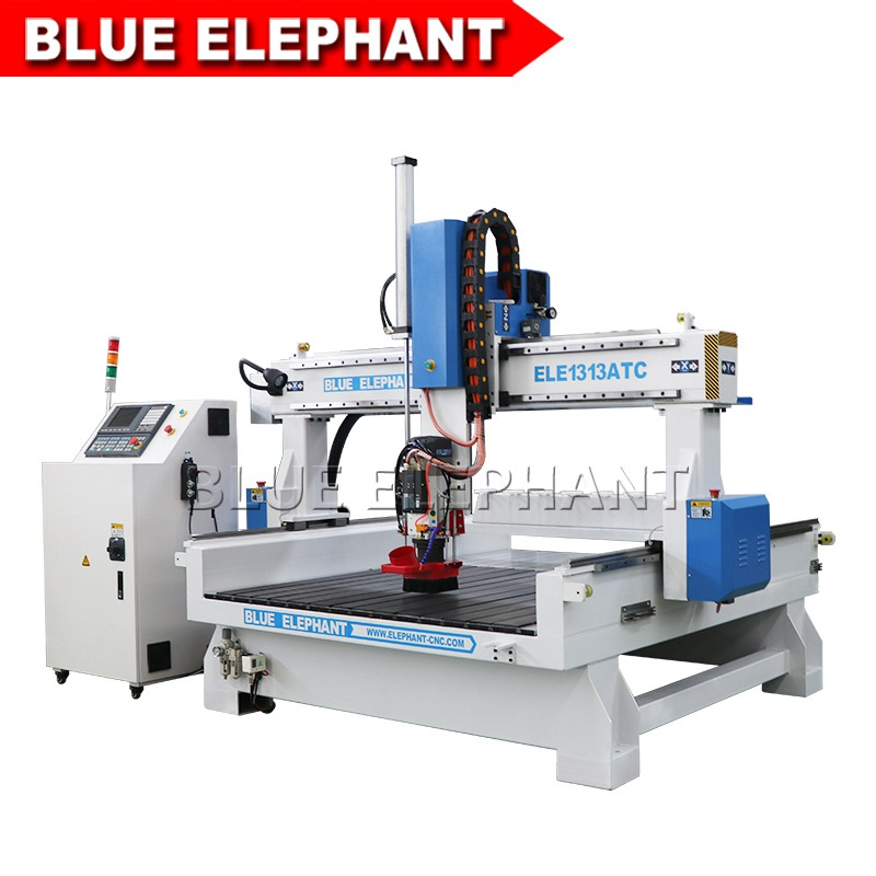 1313 atc cnc carving machine with sinking table