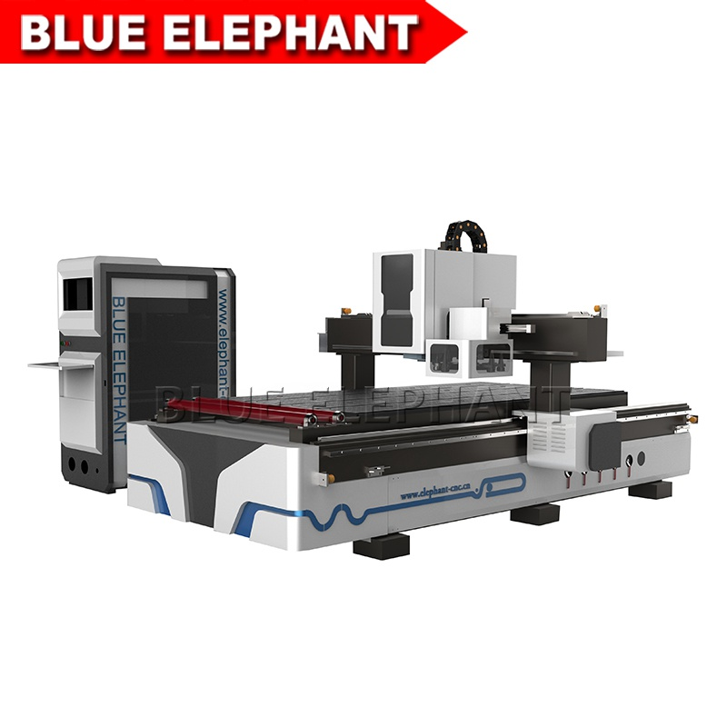 blueelephant 1325 3d statues making machine cnc router with carousel tool changer