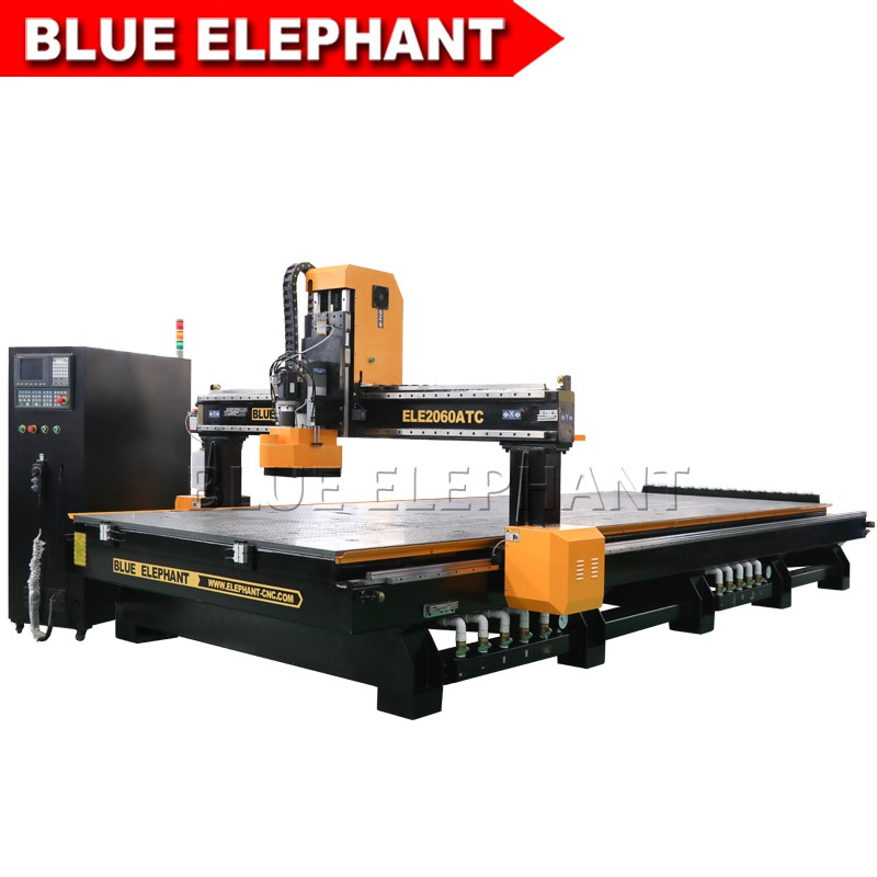 New Upgrade 2060 Linear ATC CNC Cutting and Engraving Machine with