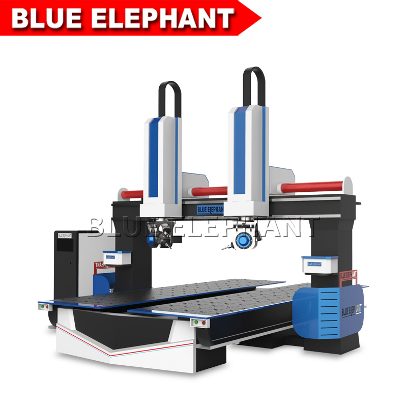 the latest 3D-1224-5-Axis-CNC-Router-Machine